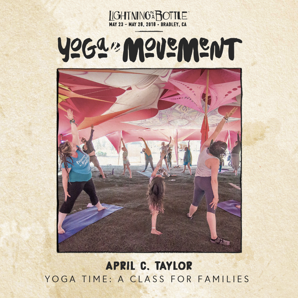 LIB 2018 Yoga&Movement - April Taylor